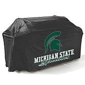 College Football Logo Grill Covers -Michigan State