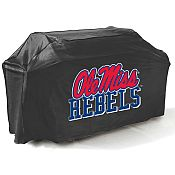 College Football Logo Grill Covers - University of Mississippi