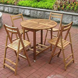 Folding Dining Table Set - MPG-TBS01