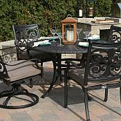 Herve 4 Person Dining Set