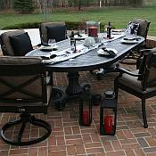 Moncler 6 Person Dining Set