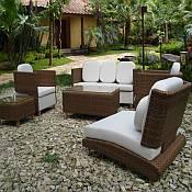 Pasha Resin Wicker Furniture Set