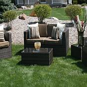 Taryn 5 pc. Resin Wicker Furniture