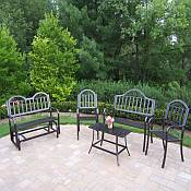 Rochester Iron 5pc. Seating Set