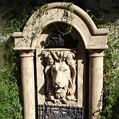 Grand Lion Water Fountain