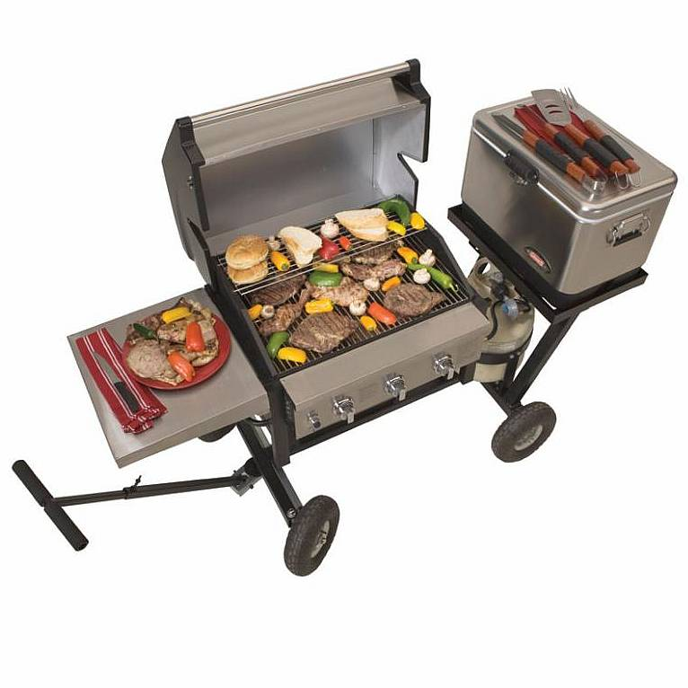 MVP 7512 All Terrain Grill Package