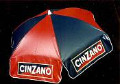 6ft Patio & Beach Umbrella / Cinzano