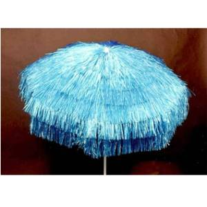6ft Palapa Patio Umbrella- Blue