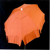 Patio & Beach Umbrella - Solid Orange