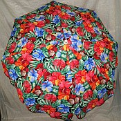 6ft Patio & Beach Umbrella - Fleuris