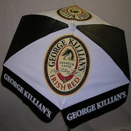 6ft Patio & Beach Umbrella / Killian's Irish Red
