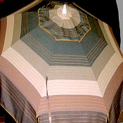 Patio & Beach Umbrella - Brown Stripe