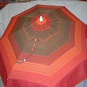 Patio & Beach Umbrella - Melon Stripe
