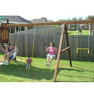 A-Frame Wooden Swing Beam Add On Kit