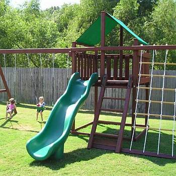Trailblazer Swing Set Wood List