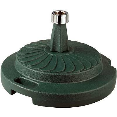 Resin Umbrella Base with Smooth Glide Roller