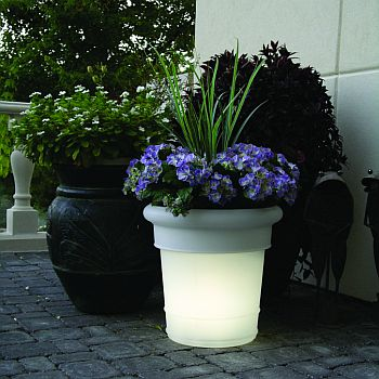Electric Lighted Planters