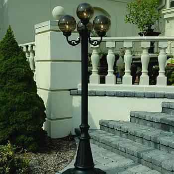 European Bronze Globe Park Lantern