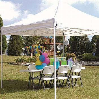 Explorer 10ft x 10ft Instant Steel Frame Shade Canopy