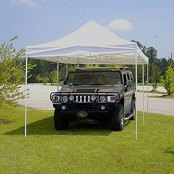 Festival 10ft x 20ft Shade Canopy - White
