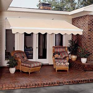 Economy Retractable Patio Awnings
