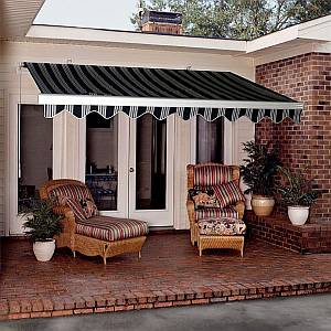 Modular Retractable Awning 16ft - Manual Crank