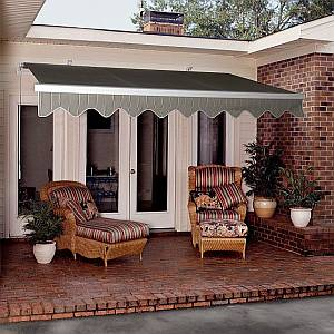 Modular Retractable Awning 16ft - Electric Crank