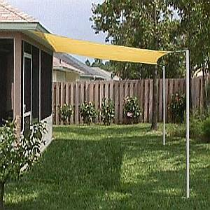 Sun Shade Sail - Square - 10 Foot