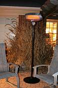 Infrared Silver Series Patio Heater