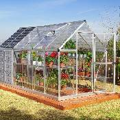 Greenhouse- HG5112 Grow and Store 6x12  with Storage Shed
