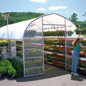 Greenhouse - 10ft x 12ft Bench Mart Deluxe