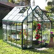 Snap&Grow™ Green Greenhouse - 6 x 8