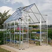 Snap & Grow™ 8 x 8 Silver Greenhouse