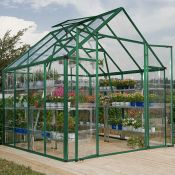 Snap & Grow™ Green Greenhouse - 8 x 8