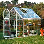 Snap & Grow™ 6 x 8 Silver Greenhouse