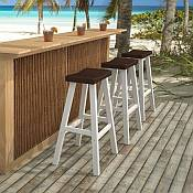 Morocco Saddle Bar Stool Collection