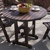 Polywood Recycled Round Table - 36 inch