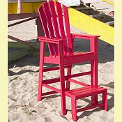 South Beach Life Guard Chair <br>Recycled Plastic