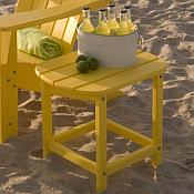South Beach Side Table <br>Recycled Plastic