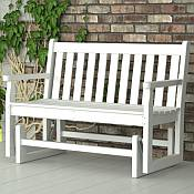 Traditional Garden Glider Bench
