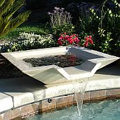 Kutstone Cubic Scupper Fountain