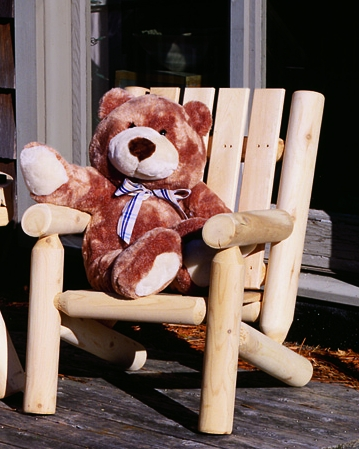 Junior Adirondack Cedar Chair