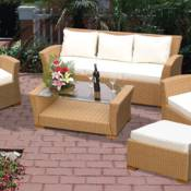 Charleston All Weather Wicker Sofa Group