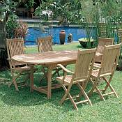 Teak Patio Furniture by Royal Teak