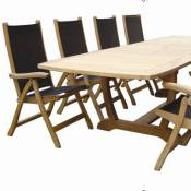 Gala Expansion Table with Florida Chairs Set