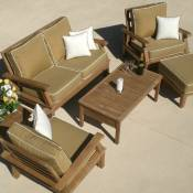 Miami Deep Seating Teak Group
