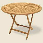 Sailor Large Round Folding Table