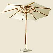 10ft Deluxe Umbrella with Lights
