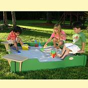 Sandlock 5ft x 5ft Sandbox Kit