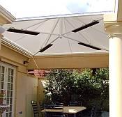 Heat Strip Radiant Outdoor Patio Heater